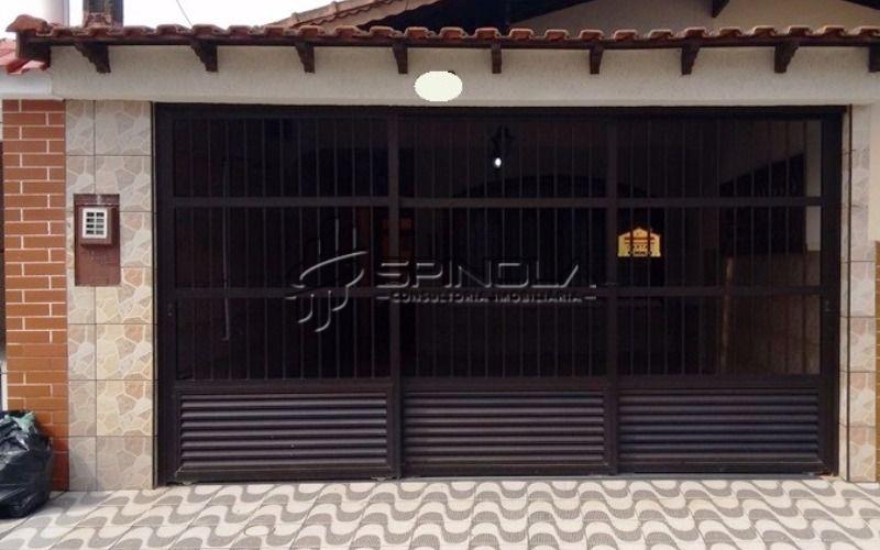 Casa geminada de 3 dormitórios à venda no Jardim Real - Praia Grande