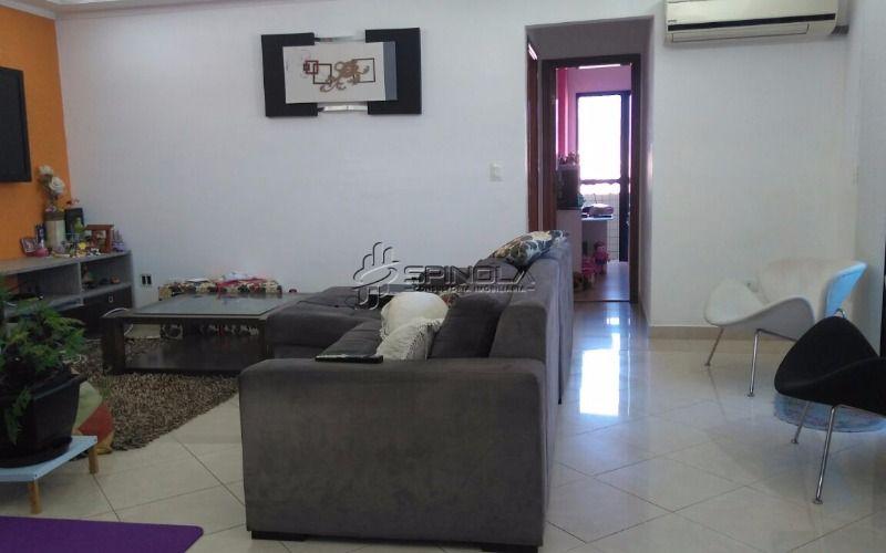 Apartamento com 3 suítes à venda na Vila Guilhermina - Praia Grande