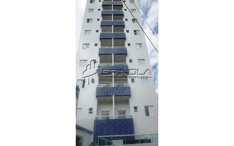 Apartamento de 2 dormitórios com varanda na Ocian - Praia Grande