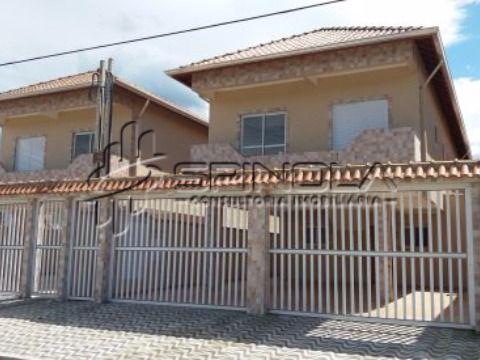 Casa de condomínio no Tude Bastos, Praia Grande