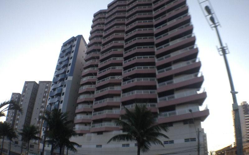 Apartamento frente mar em Praia Grande de 2 dormitórios Cidade Ocian