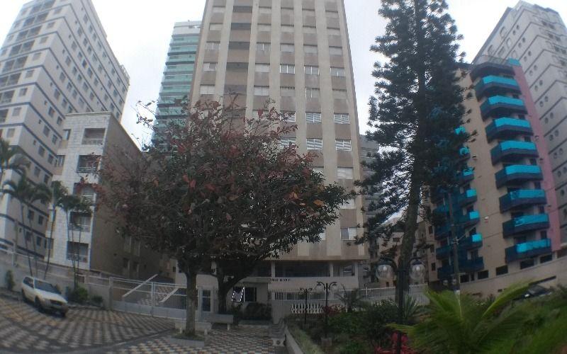 Apartamento de 2 dormitórios com vista definitiva para o mar na Vila Tupi - Praia Grande