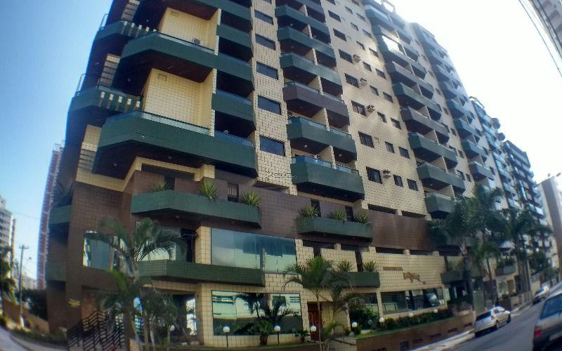 Apartamento de 1 dormitório com sacada na Vila Tupi - Praia Grande