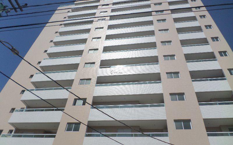 Apartamento em Praia Grande na Ocian - 2 dormitórios