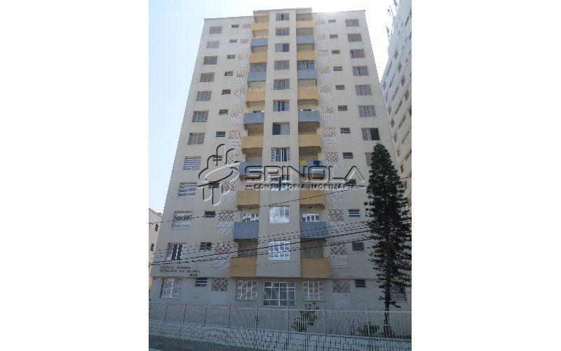 Apartamento em Praia Grande de 1 dormitório - Cidade Ocian