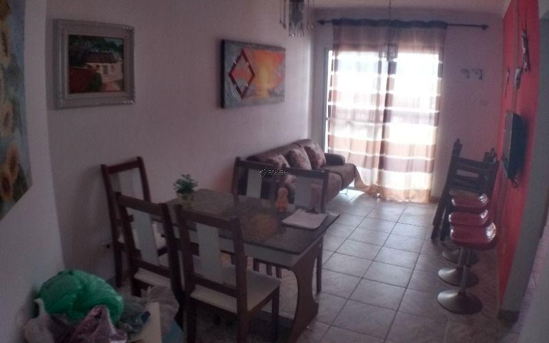 Apartamento de 2 dormitórios com sacada com vista para o mar - Praia Grande, Ocian