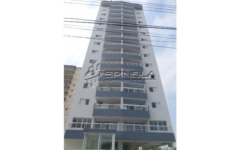 Apartamento de dois dormitórios na Vila Tupi - Praia Grande
