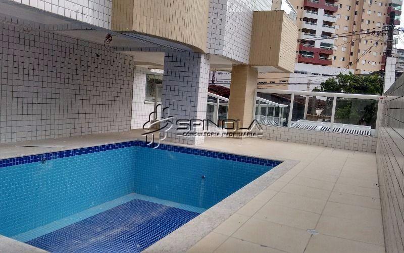 Apartamento de 2 dormitórios à venda na Vila Guilhermina - Praia Grande