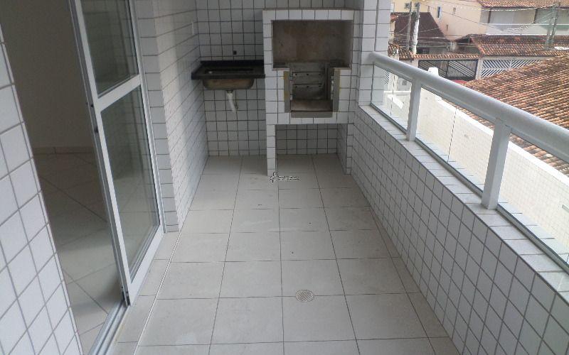 Apartamento de dois dormitórios Jardim Guilhermina - Praia Grande