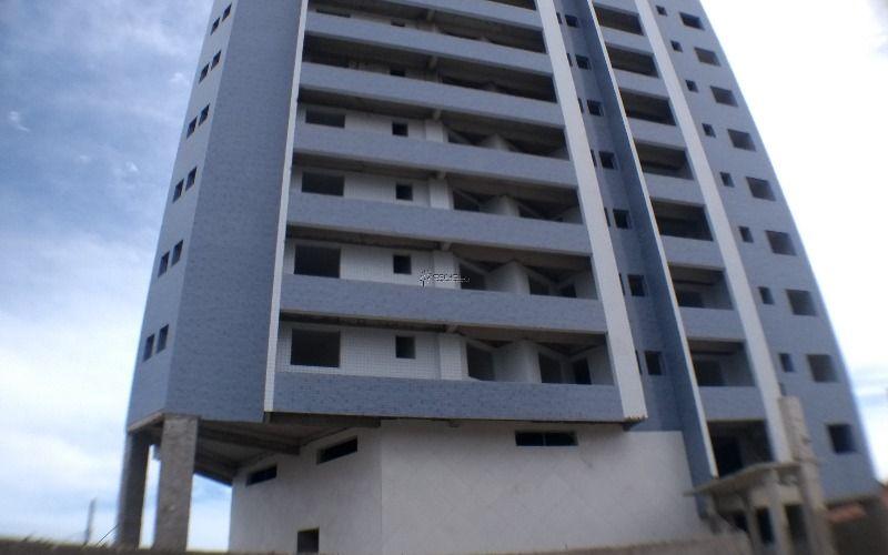 Apartamento de 1 dormitório com varanda em Praia Grande, Vila Caiçara