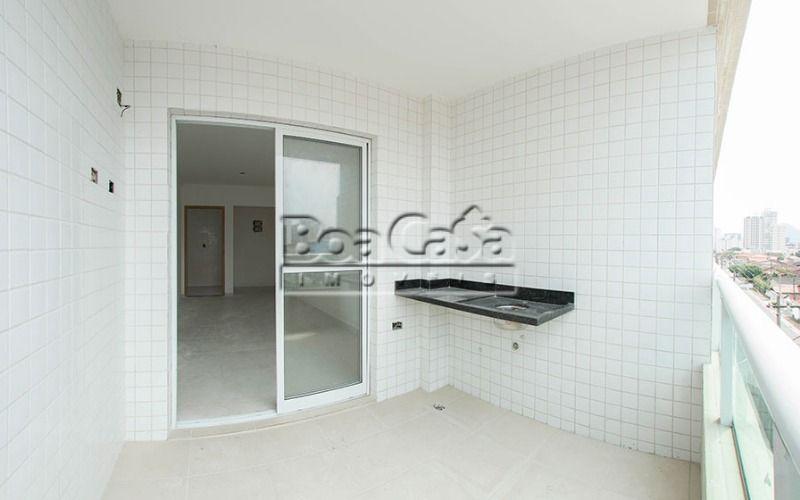 Apartamento na Guilhermina, Praia Grande