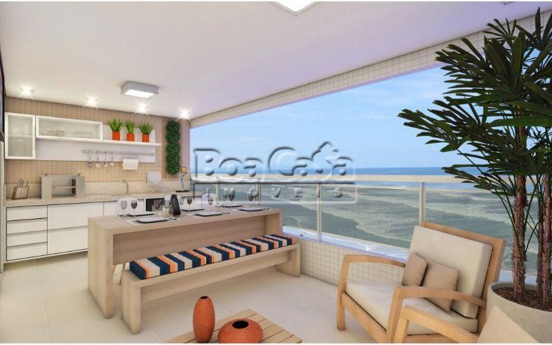 Apartamento no Balneário Flórida, Praia Grande