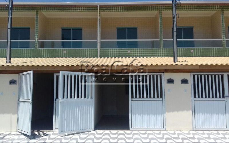 Casa condominio 2 dorm no Tude Bastos, Praia Grande