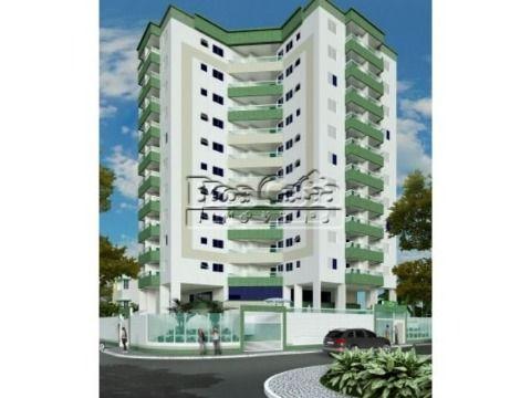 Apartamento residencial na Vila Guilhermina, Praia Grande