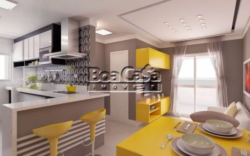 Cozinha + Sala de Jantar e Estar
