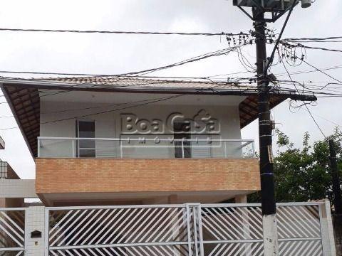 Casa condomínio 2 dorm  no Tude Bastos, Praia Grande