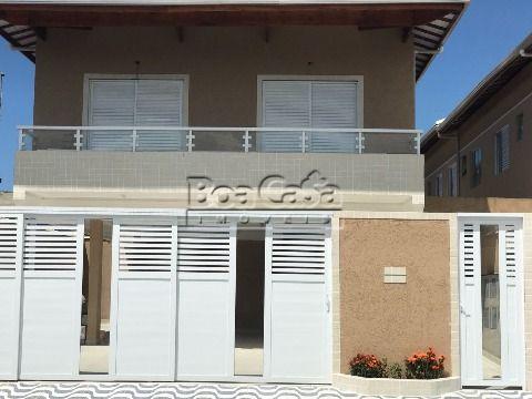 Casa de condomínio na Vila Mirim, Praia Grande