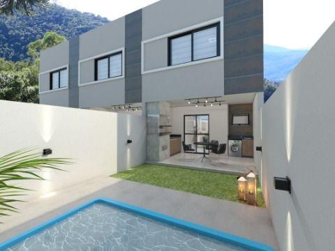 Casa Duplex 3 Quartos com Quintal e Opção de Piscina