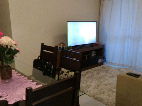Vendo apartamento de duas suítes sendo uma com sacada, totalmente mobiliado