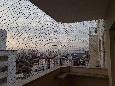 Vendo apartamento de dois dormitórios em Barreiros, São José SC, andar alto, vista para o mar, sacada com churrasqueira á carvão