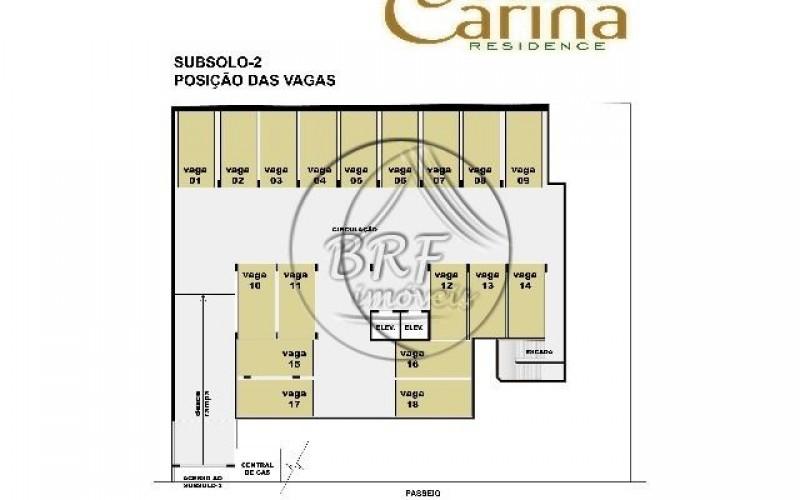 Carina Residence - Planta Subsolo-2(P2)