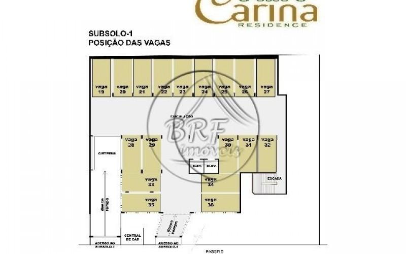 Carina Residence - Planta Subsolo-1(P2)