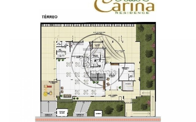 Carina Residence - Planta Terreo (P)