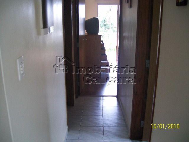 Corredor para wc social e dormitórios