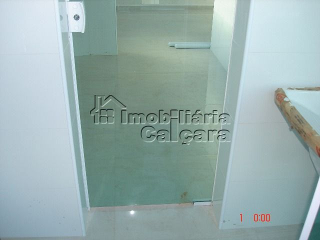 porta de vidro da área de serviço