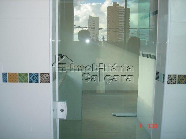 porta de vidro da cozinha