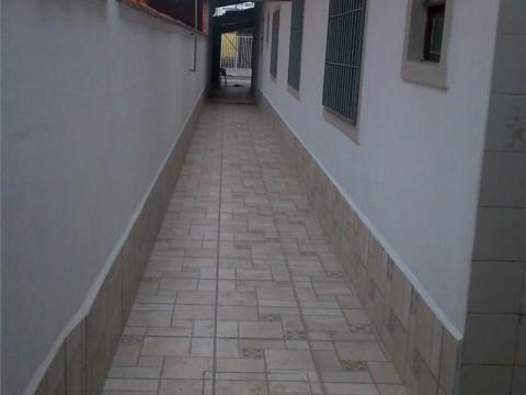 Casa  residencial com 3 dormitórios à venda, Balneário Maracanã, Praia Grande.