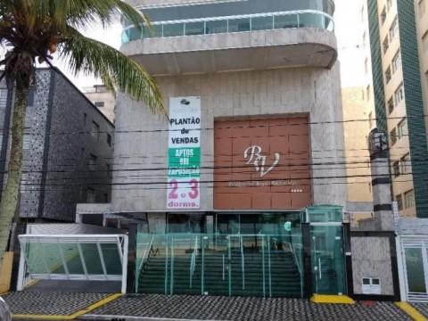 Apartamento de 2 Dormitórios de Frente pro Mar na Aviação, Praia Grande.