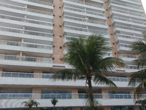 Apartamento em Frente ao Mar, Vila Guilhermina Praia Grande