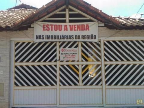 Casa Geminada 2 Dormitórios com 2 Suítes na Vila Mirim, Praia Grande