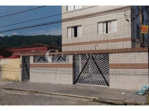 Apartamento na Vila Voturuá em São Vicente de 2 Dormitórios