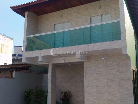 Casa em Condomínio LINDA, com 2 Dormitórios na Vila Mirim