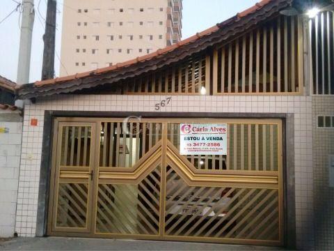 Casa Geminada de 2 Dormitórios com Churrasqueira na Vila Guilhermina
