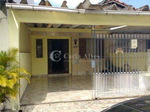 Casa de 3 Dormitórios com Suíte no Boqueirão, Praia Grande - SP