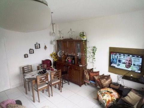 Apartamento de 2 Dormitórios na Vila Caiçara de Frente pro Mar, Praia Grande - SP