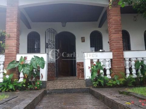 Casa ISOLADA na Vila Caiçara, Praia Grande com 3 Dormitórios e Edicula GRANDE