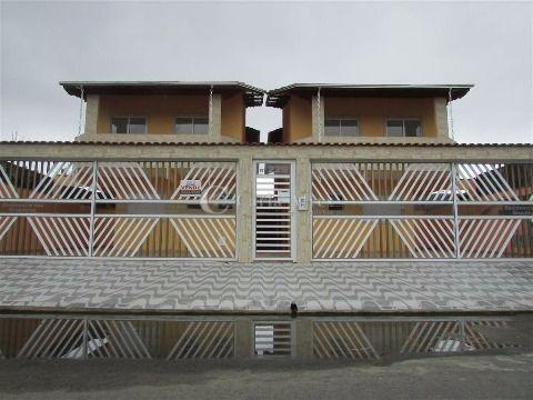 Casa de 2 Dormitórios no Parque das  Américas, Praia Grande