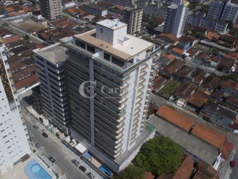 Apartamento com 2 Dormitórios com Piscina na Vila Guilhermina, Praia Grande