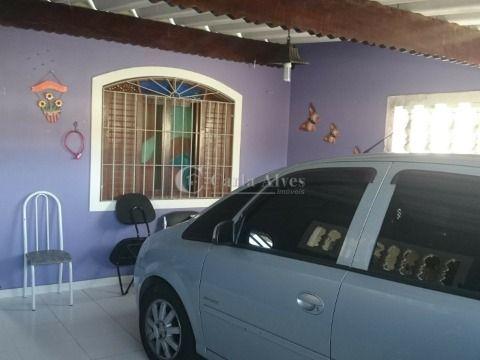 Casa Geminada 2 Dormitórios com Suíte no Balneário Maracanã - Praia Grande