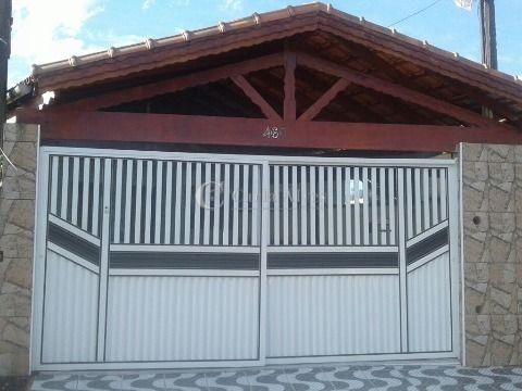 Casa Geminada de 3 Dormitório com Suíte na Vila Caiçara - Praia Grande