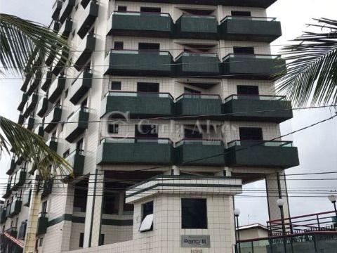 Apartamento de Frente pro Mar de 2 Dormitórios com 1 Suíte