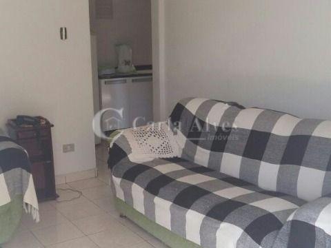 Apartamento de 1 Dormitório no Gonzaguinha, São Vicente, Próximo do Centro