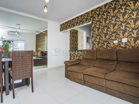 Apartamento NOVO Mobiliado na Vila Caiçara de 2 Dormitórios com 1 Suíte