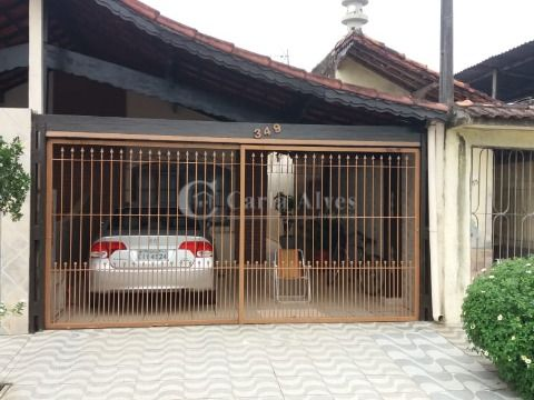 Casa Geminada na Vila Caiçara com 2 Dormitórios com Churrasqueira