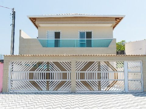 Casas em Condomínio de 2 Dormitórios no Jardim Quietude, Praia Grande