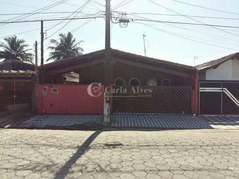 Casa Isolada de 2 Dormitórios com Suítes no Balneário Maracanã